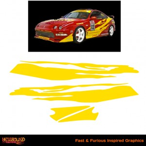 Fast and Furious Integra Inspired Decals