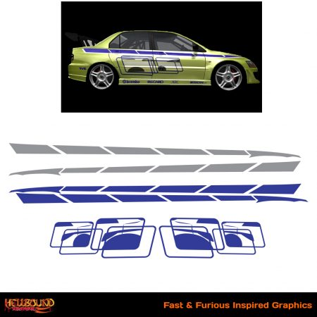 Fast and Furious Inspired Decals 4