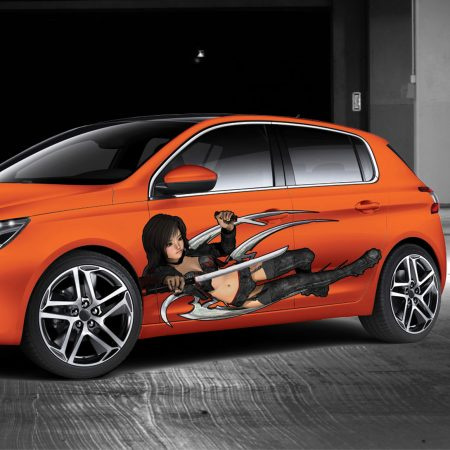 Vinyl Car Graphics and Vehicle Decals
