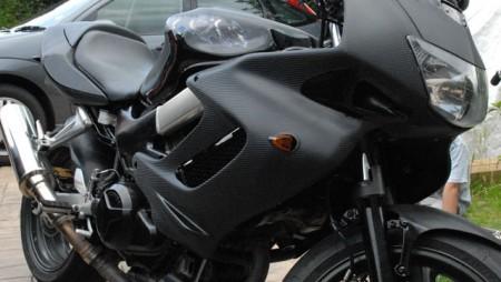 Carbon Fibre Bike Wrap