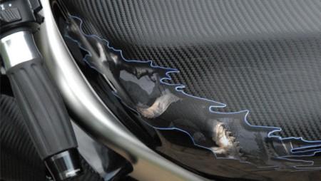 Carbon Fibre Bike Wrap 2