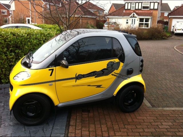 Fast and Furious Smart Car