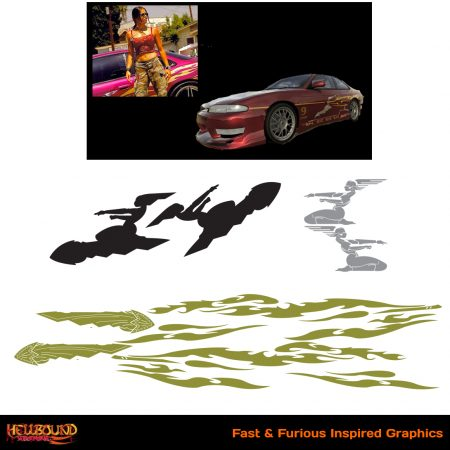 Fast and Furious Inspired Decals 7