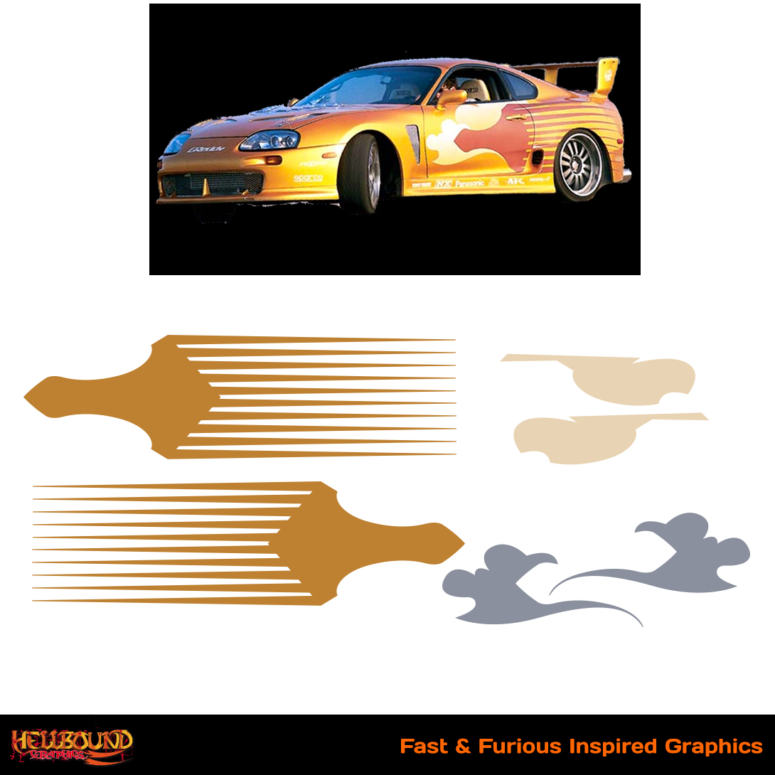 Fast and furious inspired decals 13 hellbound graphics